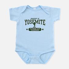 Yosemite Nat Park Hiker Girl Infant Bodysuit