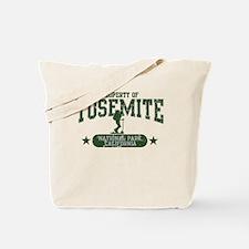 Yosemite Nat Park Hiker Girl Tote Bag