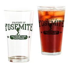 Yosemite Nat Park Hiker Girl Drinking Glass