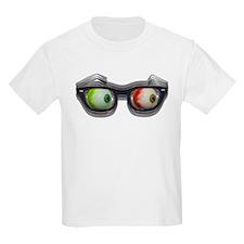 Look Out! Bloodshot Eyebal Glasses T-Shirt