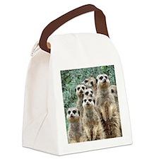 Meerkat012 Canvas Lunch Bag