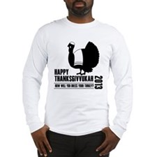 Thanksgivvukah 2013 Long Sleeve T-Shirt