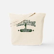 Yellowstone Nat Park Hiker Girl Tote Bag