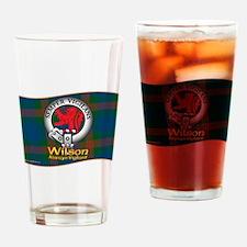 Wilson Clan Drinking Glass