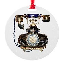 Antique Phone Ornament