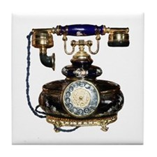 Antique Phone Tile Coaster