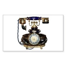 Antique Phone Decal