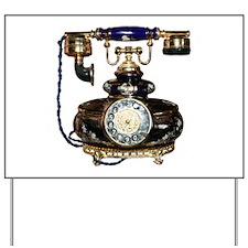 Antique Phone Yard Sign