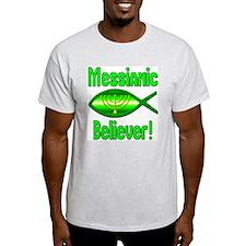 Messianic Believer! Ash Grey T-Shirt