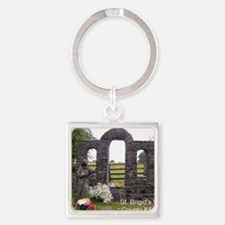 Brigit's Well, Kildare Square Keychain