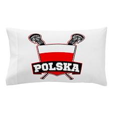 Polska Polish Lacrosse Pillow Case