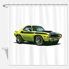 BabyAmericanMuscleCar_70CHLGR_Yellow Shower Curtai