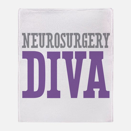 Neurosurgery DIVA Throw Blanket
