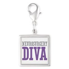 Neurosurgery DIVA Silver Square Charm