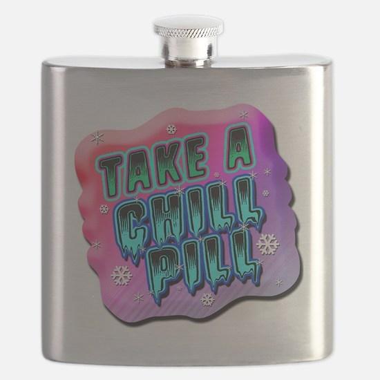 Take A Chill Pill Flask