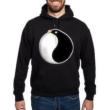 Yin yang penguin Hoodie