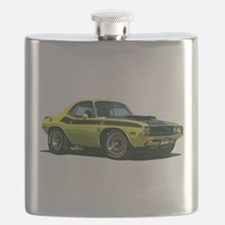 BabyAmericanMuscleCar_70CHLGR_Yellow Flask