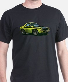 BabyAmericanMuscleCar_70CHLGR_Yellow T-Shirt