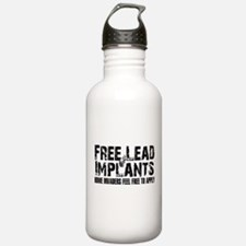 Free Lead Implants Water Bottle