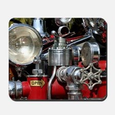 Old Fire Truck Mousepad