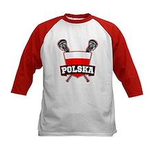 Polska Polish Lacrosse Baseball Jersey