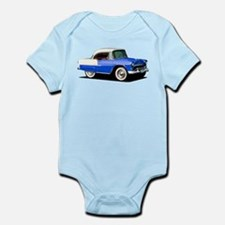 BabyAmericanMuscleCar_55BelR_Xmas_Blue Body Suit