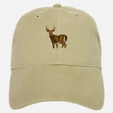 White Tail Deer Buck Baseball Baseball Cap
