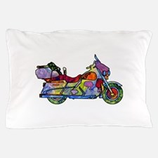 Wild Motorcycle Pillow Case