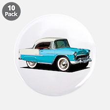 "BabyAmericanMuscleCar_55BelR_Skyblue 3.5"" Button ("