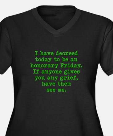 Honorary Friday Plus Size T-Shirt