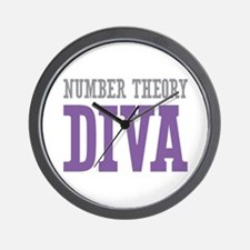 Number Theory DIVA Wall Clock