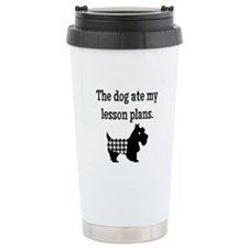 Dog Ate My Lesson Plans Travel Mug
