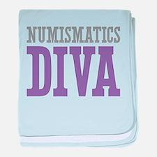 Numismatics DIVA baby blanket
