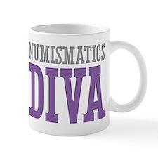 Numismatics DIVA Mug