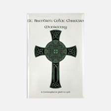 St. Brendan's Celtic Christian Mo Rectangle Magnet
