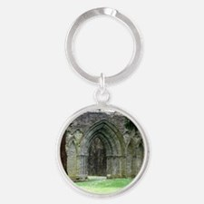 Inchmahome Priory Round Keychain