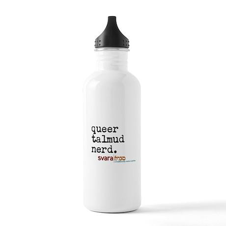 queer talmud nerd Water Bottle