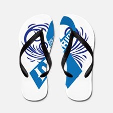 Colon Cancer Warrior Flip Flops