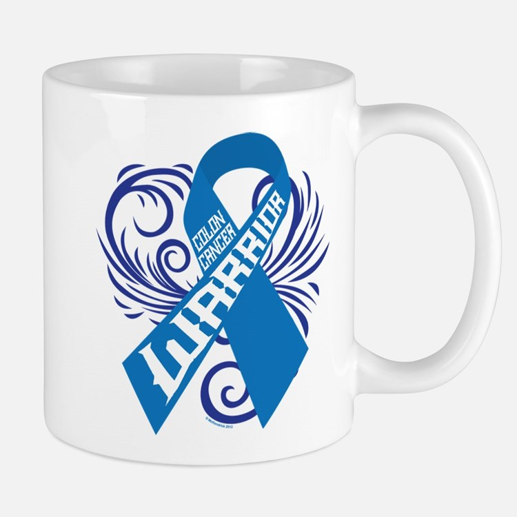 Colon Cancer Warrior Small Small Mug