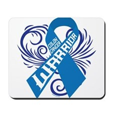 Colon Cancer Warrior Mousepad