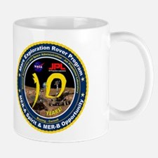 Mars Rovers 10Th Birthday! Mug