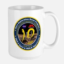 Mars Rovers 10th Birthday! Mug