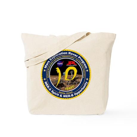 Mars Rovers 10Th Birthday! Tote Bag
