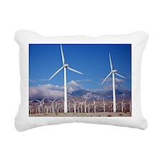 Wind Farm Rectangular Canvas Pillow
