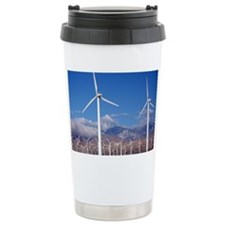 Wind Farm Travel Coffee Mug