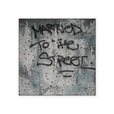 "Married to the Street Square Sticker 3"" x 3"""
