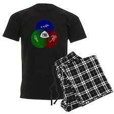 Tri circles Pajamas