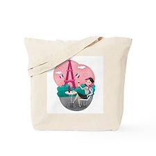 Je T'aime Paris Tote Bag