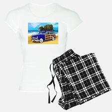 Xmas Tree Woodie Pajamas