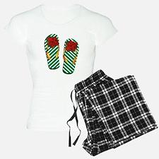 Xmas Flip Flops Pajamas